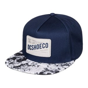 Men's Leatherstan Snapback Hat 888327815398 | DC Shoes