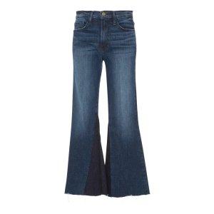 Mid-Rise Cropped Jeans   Moda Operandi