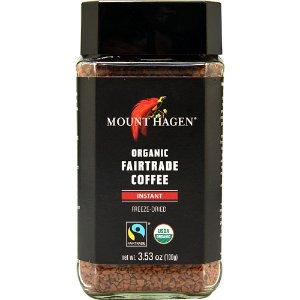 Mount Hagen Organic Fair Trade Instant Coffee -- 3.53 oz