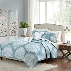 from$19.997-Piece Comforter Set (various designs, sizes)