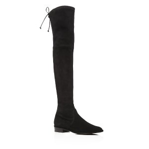 Lowland Stretch Flat Over the Knee Boots