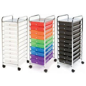 $24.98Seville Classics 10 Drawer Cart (Mulitple Colors)
