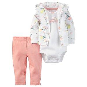 3-Piece Babysoft Cardigan Set | Carters.com