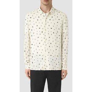 ALLSAINTS US: Mens Vee Shirt (Chalk White)