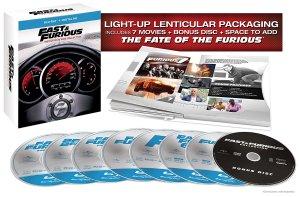$27.99(原价$59.99)Fast & Furious 终极版 1-7合集 (蓝光不锁区)