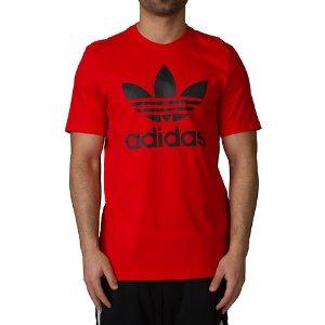 Adidas Originals Trefoil Tee - Red | Jimmy Jazz - BK7167-618