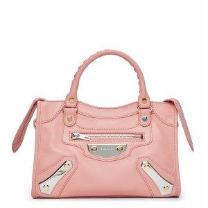 Pink Amp Plate Mini City Bag