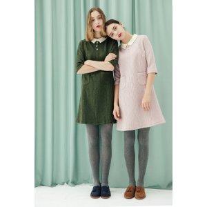 Carmichelle Dress (Moss)