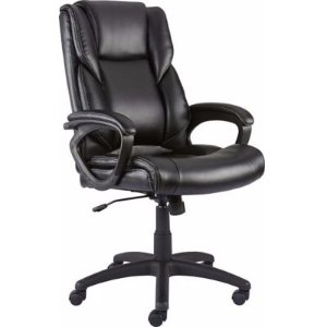 Staples Kelburne Luxura Office Chair, Black