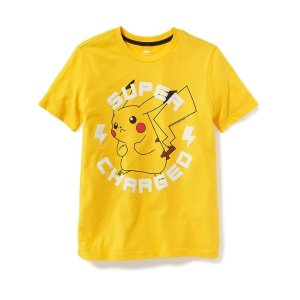 Pokémon™ Pikachu Graphic Tee for Boys