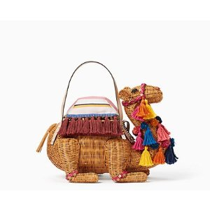 spice things up wicker camel | Kate Spade New York