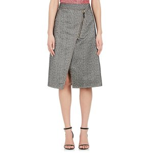 Acne Studios Panna Cotton Twill Wrap Skirt