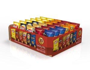 $8.07包邮Frito-Lay Variety Pack Classic Mix 多口味薯片 30包