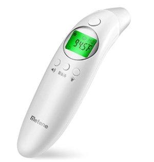 $14.99Metene  二合一无接触高精确度红外体表温度计