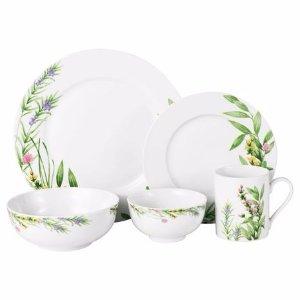 Mikasa® Herbal Fields 40 Piece Dinnerware Set