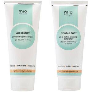 Mio Shower Essentials Duo (Worth $57) - FREE Delivery