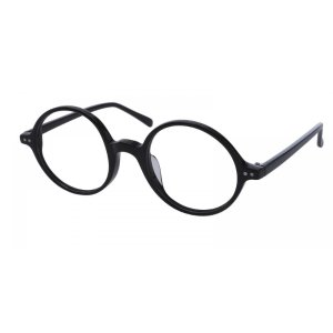Capricorn Round - Black Eyeglasses | GlassesShop.com