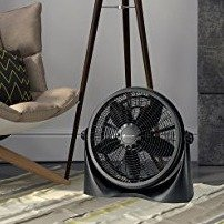 Avalon 16 Inch 360 Degree Adjustable Floor/Table Fan