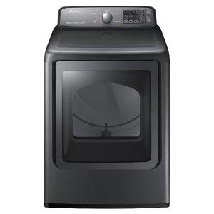 Shop Samsung 7.4-cu ft Gas Dryer (Platinum) ENERGY STAR at Lowes.com