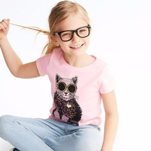 $5 All SizesKids Select Short-Sleeve Graphic Tees Doorbuster @ OshKosh BGosh