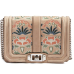 Rebecca Minkoff Small Love Embroidered Nubuck Crossbody Bag (Nordstrom Exclusive)