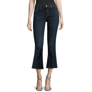 Selena Cropped Bootcut Jean by J Brand at Gilt