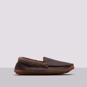 TWO TONE SHERPA VENETIAN MOCCASIN SLIPPERS | Kenneth Cole