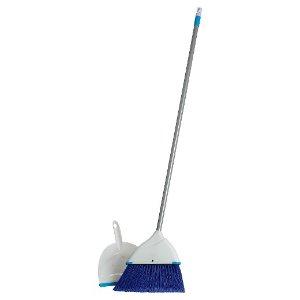 Clorox Blue Angle Broom and Dustpan Set : Target