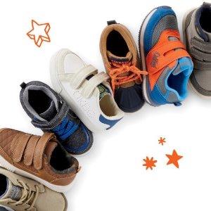 BOGO Free + Free ShippingKids Shoes @ OshKosh BGosh