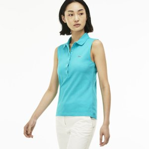 Women's Stretch Petit Piqué Polo Shirt | LACOSTE