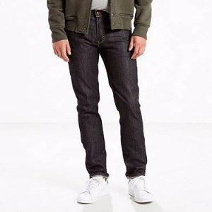 511™ Blue Black Raw Denim Slim Jeans for Men | Levi's®