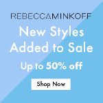 New Spring Styles Added @ Rebecca Minkoff