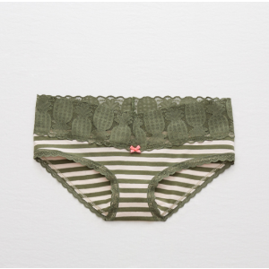 Aerie Pineapple Trim Boybrief, Rugged Green | Aerie for American Eagle