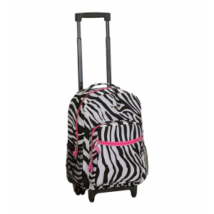Rockland Pink Zebra 17
