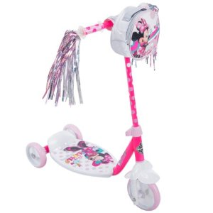 Disney Minnie Girls' 3-Wheel Preschool Scooter, by Huffy - Walmart.com