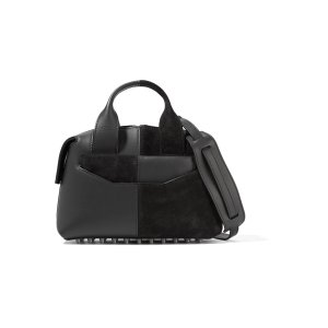 Rogue suede and leather shoulder bag | Alexander Wang