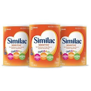 $62.48Similac Advance Infant Formula with Iron, Powder, One Month Supply (3 Packs of 36 Ounces)