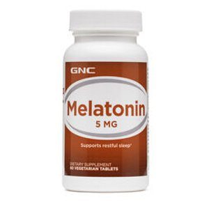 GNC Melatonin 5 MG - 60ct