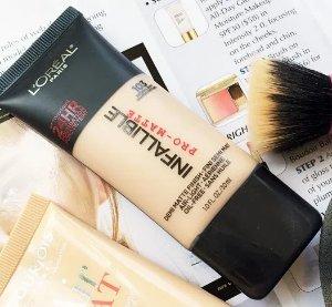 $7.11L'Oreal Paris Infallible Pro-Matte Foundation Makeup, 104 Golden Beige, 1 fl. oz.