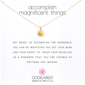 Starburst Necklace, Gold Dipped | Dogeared
