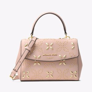 Ava Extra-small Floral Studded Crossbody | Michael Kors