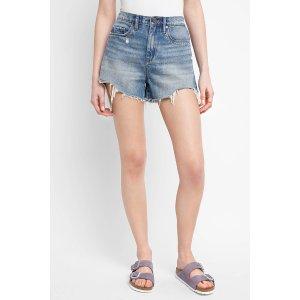 Blank Ms. Throwback High Rise Denim Shorts