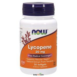 NOW® Lycopene 20 mg 50 Softgels