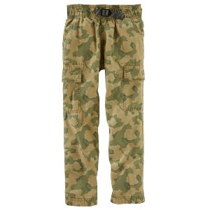 Kid Boy Pull-On Camo Cargos | OshKosh.com