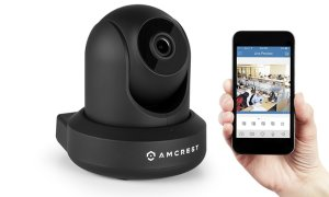$49Amcrest 720P  Wireless WiFi Video Monitoring IP Security Camera