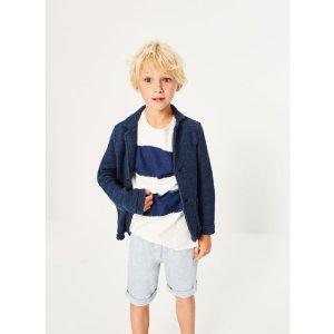PLUSH BLAZER - COATS-BOY | 4-14 years-KIDS-SALE | ZARA United States