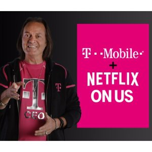 Includes Netflix On Us FreeT-mobile One Family Plans with 2+Lines