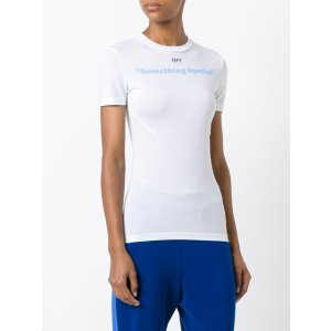 Off-White 'something Special' Print T-shirt - Farfetch