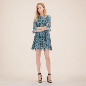 RAJO Short guipure dress - Dresses - Maje.com