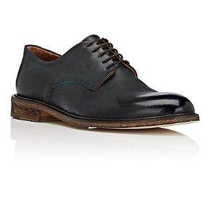 Barneys New York Burnished Leather Bluchers | Barneys Warehouse
